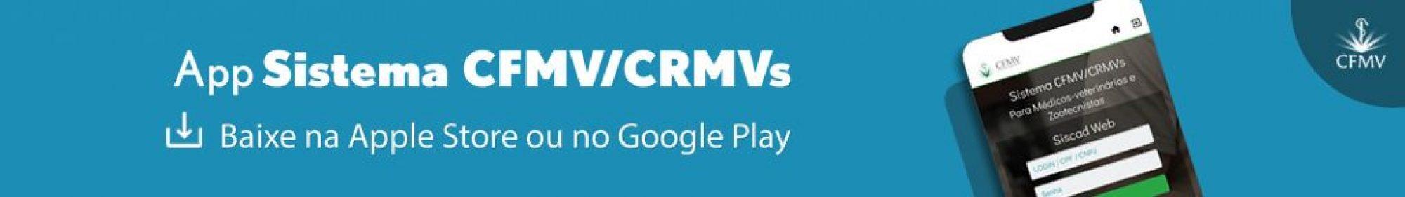 Conheça o APP CFMV