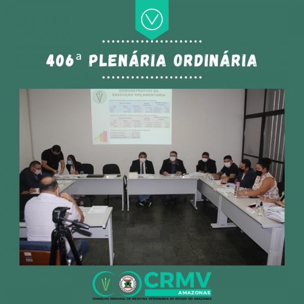 406ª Plenária Ordinária - 12.05.2021