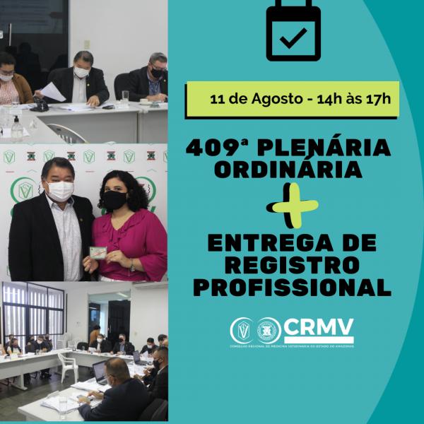 407ª Plenária Ordinária + Entrega de carteiras profissionais (1)
