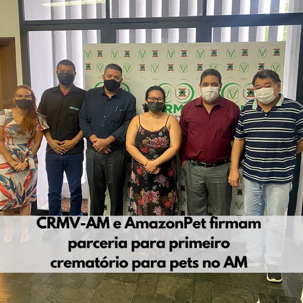 CRMV-AM e AmazonPet firmam parceria para crematório de pets em Manaus